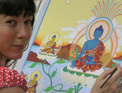 Thangka Weekend Course – Offerings & Offering Goddesses