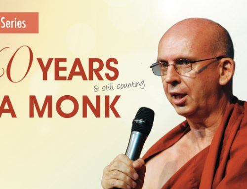 Past Event – BL Talk Series – 40 Years A Monk by Bhante Shravasti Dhammika