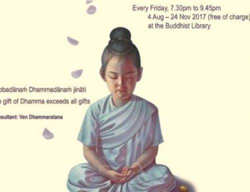 Friday Meditation & Dhamma Class