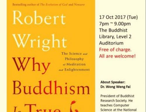 Past Event – BL Book Club – Why Buddhism is True