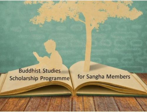 Buddhist Studies Scholarship Programme for Sangha – Briefing