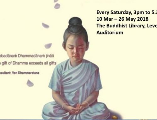 Saturday Meditation & Dhamma Class