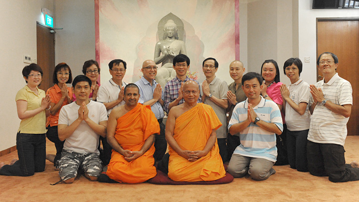 2014/2015 Management Committee of the Buddhist Research Society
